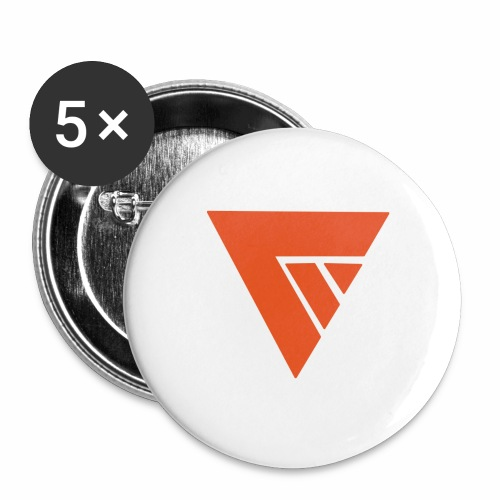 Logo Team Mutation - Lot de 5 grands badges (56 mm)