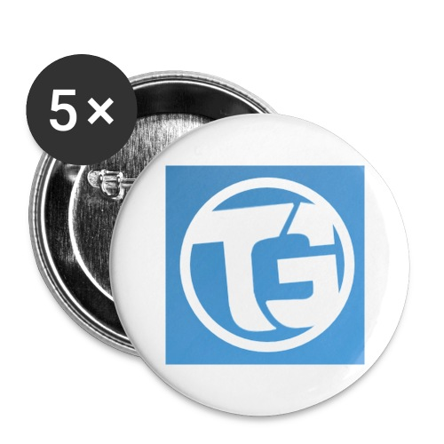 TURBOTRUI - Buttons groot 56 mm (5-pack)
