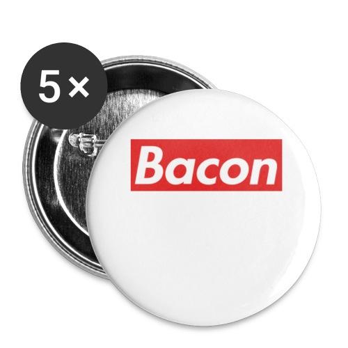 Bacon - Stora knappar 56 mm (5-pack)
