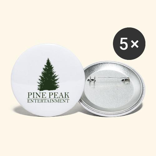 Pine Peak Entertainment - Buttons groot 56 mm (5-pack)