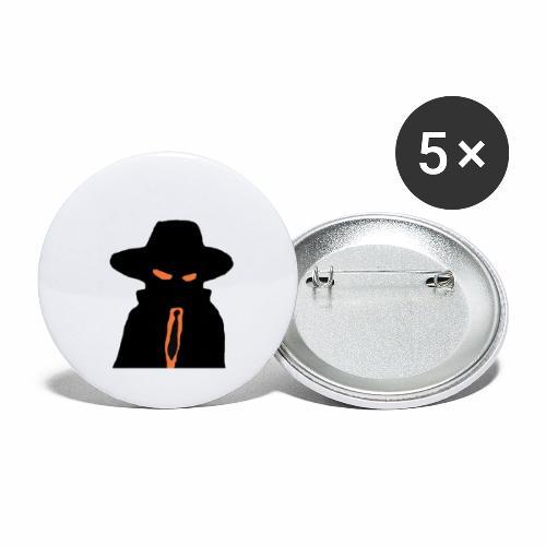 Brewski Herr Hemlig ™ - Buttons large 2.2''/56 mm(5-pack)