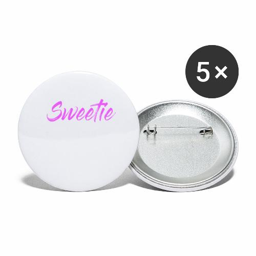 Sweetie - Buttons large 2.2''/56 mm(5-pack)