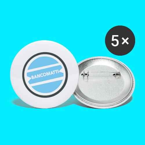 Bancomatti - Confezione da 5 spille grandi (56 mm)