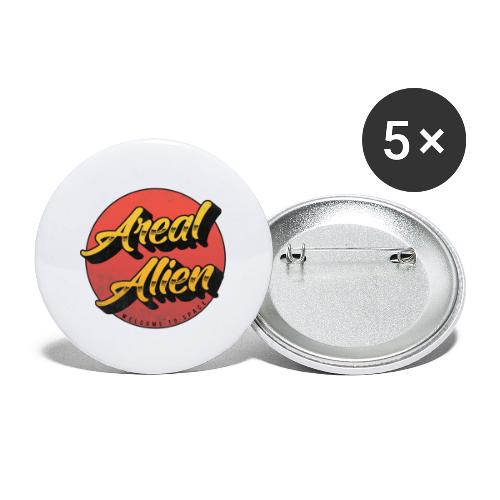 Alien Rusty Vintage Logo - Stor pin 56 mm (5-er pakke)