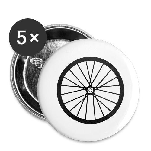 Laufrad - Buttons groß 56 mm (5er Pack)
