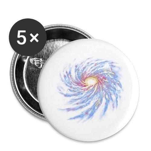 Livre de L'Espace-Temps - Buttons large 2.2''/56 mm(5-pack)