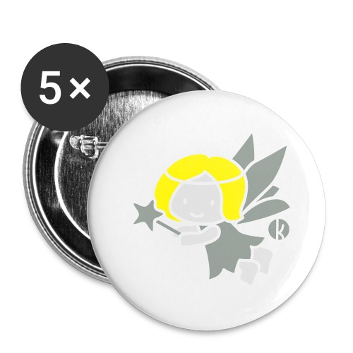 Fee (c) - Fay - Buttons groß 56 mm (5er Pack)