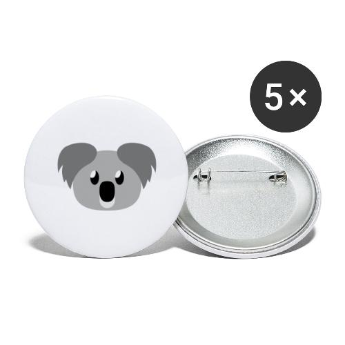 Koala »Kim« - Buttons large 2.2''/56 mm (5-pack)