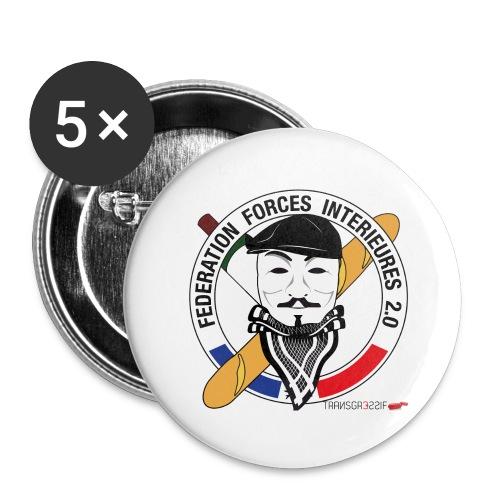 FFi Anonymous - Lot de 5 grands badges (56 mm)