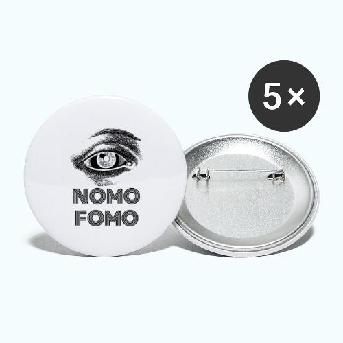 NOMO FOMO - Buttons large 2.2''/56 mm(5-pack)