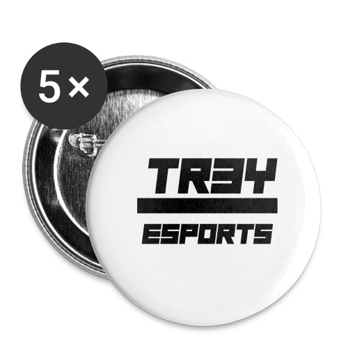 TR3Y ESPORTS - Buttons groot 56 mm (5-pack)