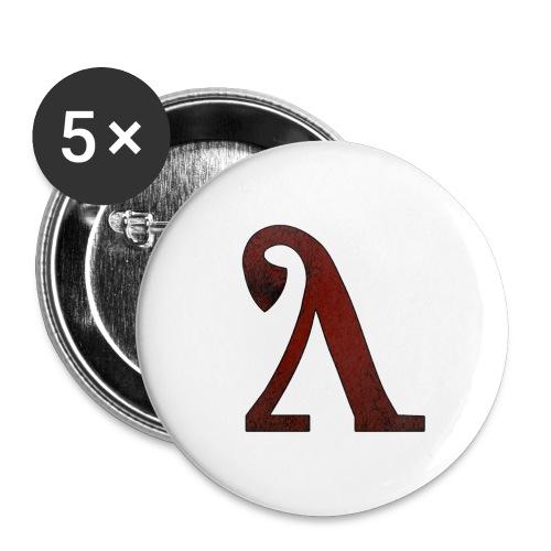 logo de Lahminewski Lab - Lot de 5 grands badges (56 mm)