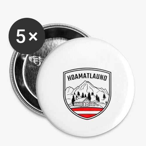hoamatlaund österreich - Buttons groß 56 mm (5er Pack)