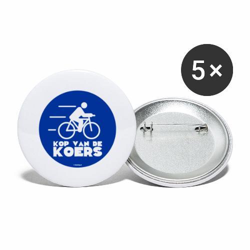 Kop van de koers - Buttons groot 56 mm (5-pack)