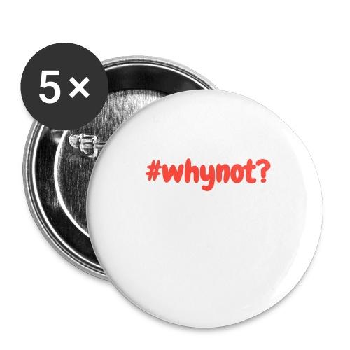 whynot - Rintamerkit isot 56 mm (5kpl pakkauksessa)