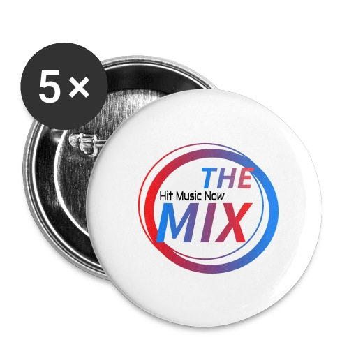 THE MIX - Hit Music Now - Buttons/Badges stor, 56 mm (5-pack)
