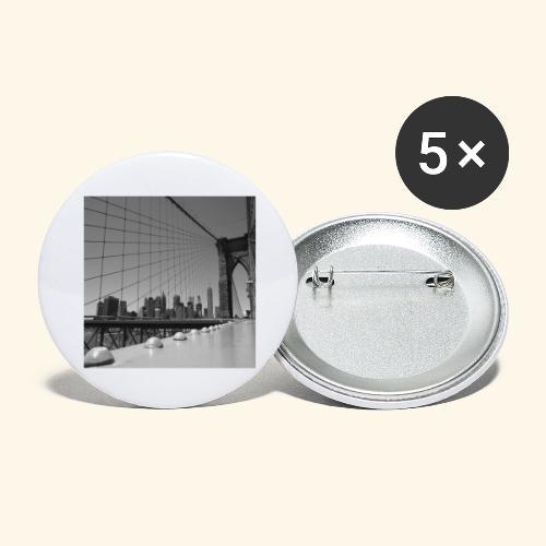 Brooklyn bridge - Confezione da 5 spille grandi (56 mm)