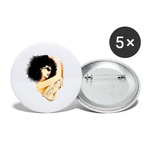 D:A:N:C:E - Buttons groß 56 mm (5er Pack)