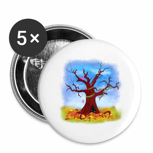 Tree spirits - Przypinka duża 56 mm (pakiet 5 szt.)