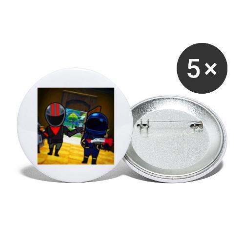 gg - Stora knappar 56 mm (5-pack)