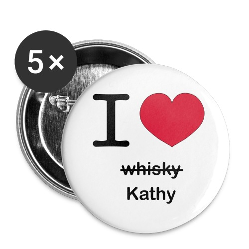 ilovekathy - Buttons groot 56 mm (5-pack)