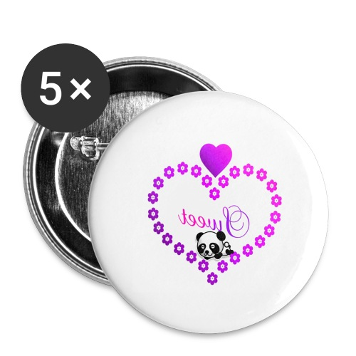 NameArt20200208233307 2 - Buttons groß 56 mm (5er Pack)