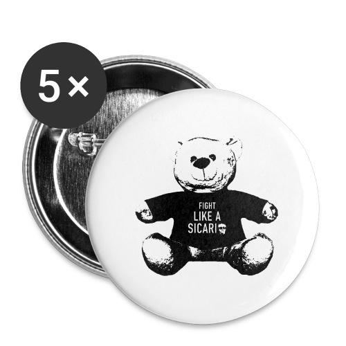 Kuschelkartel - Buttons groß 56 mm (5er Pack)