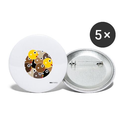 WIO SKIN COLOR - Paquete de 5 chapas grandes (56 mm)