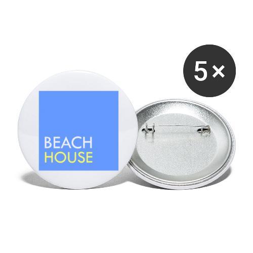 Blue Summer Logo - Buttons large 2.2''/56 mm(5-pack)