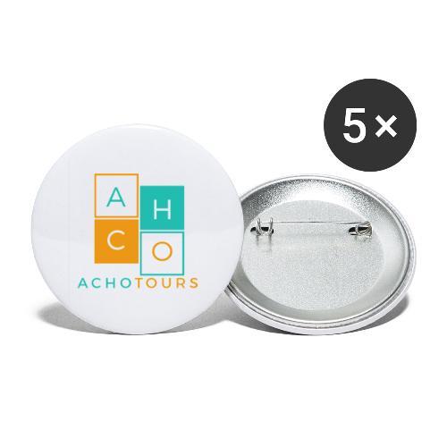 ACHOtours - Paquete de 5 chapas grandes (56 mm)