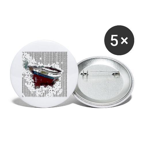 Shoppiful - Confezione da 5 spille grandi (56 mm)