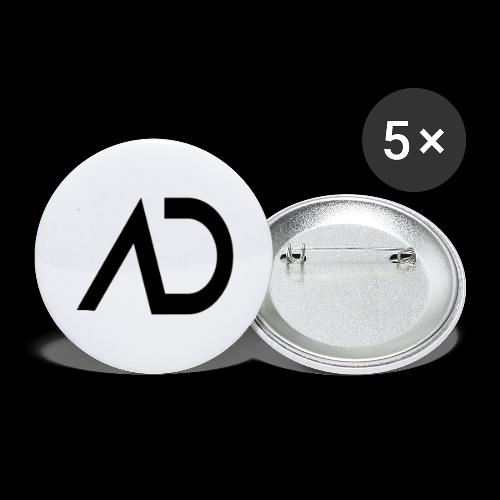 AREND AD LOGO - Buttons large 2.2''/56 mm (5-pack)