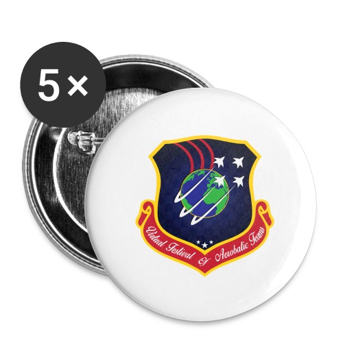 VFAT LOGO - Buttons large 2.2''/56 mm(5-pack)