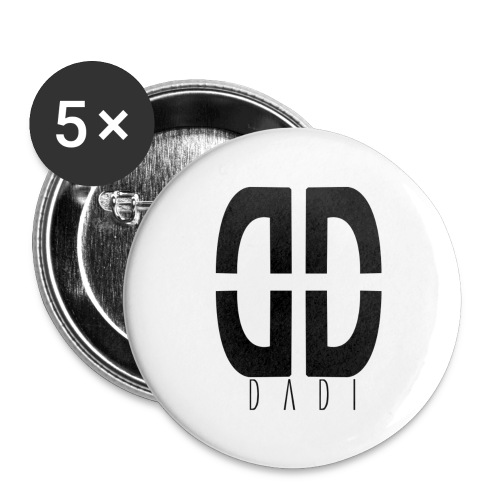 dadi logo png - Buttons groß 56 mm (5er Pack)