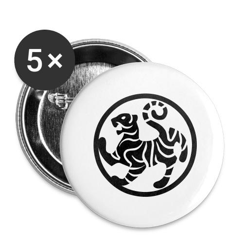 shotokansign vektor - Buttons groß 56 mm (5er Pack)