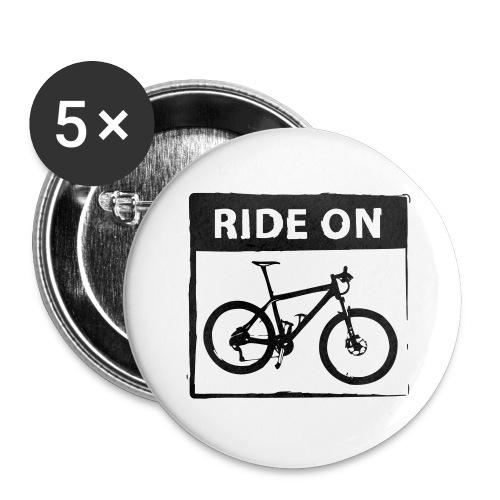 Ride On MTB 1 Color - Buttons groß 56 mm (5er Pack)