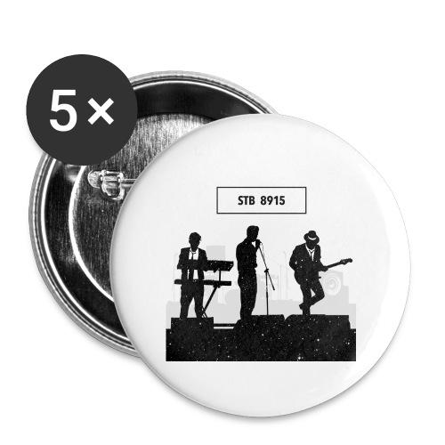 Storetsh Talker Band - Buttons groß 56 mm (5er Pack)