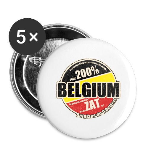 Belgium Vintage - Buttons groot 56 mm (5-pack)
