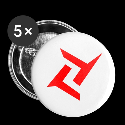 New logo 2 png - Buttons groot 56 mm (5-pack)