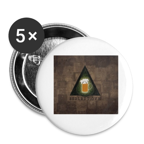 banner 2 Copie - Lot de 5 grands badges (56 mm)