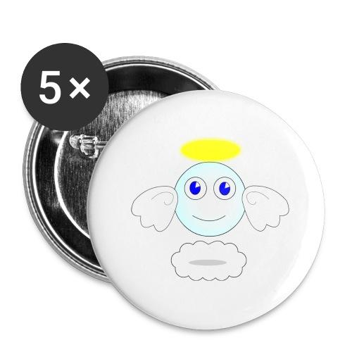 puff logo - Confezione da 5 spille grandi (56 mm)