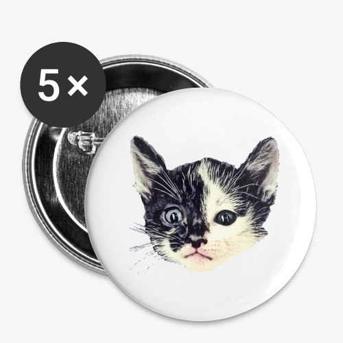 Double sided - Buttons large 2.2''/56 mm(5-pack)