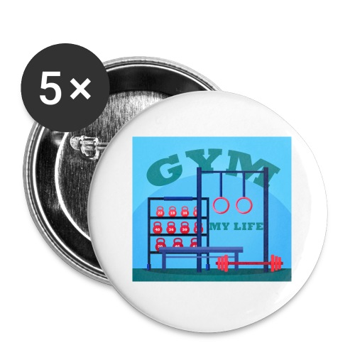 GYM - Rintamerkit isot 56 mm (5kpl pakkauksessa)
