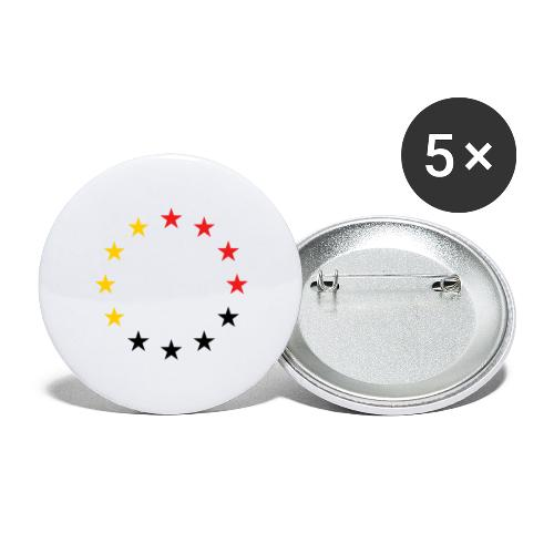 United Europe Tres - Buttons groß 56 mm (5er Pack)