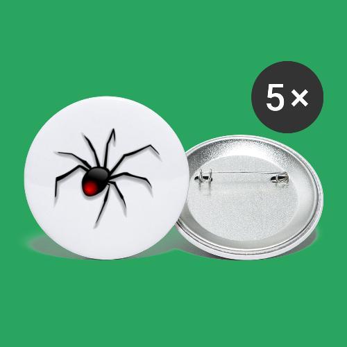 spider logo fantasy - Confezione da 5 spille grandi (56 mm)