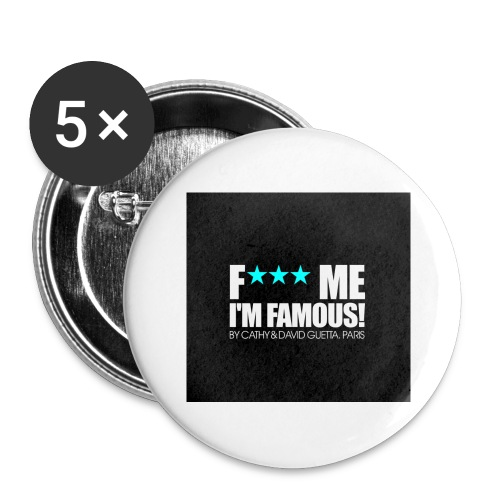 FMIF Badge - Lot de 5 grands badges (56 mm)