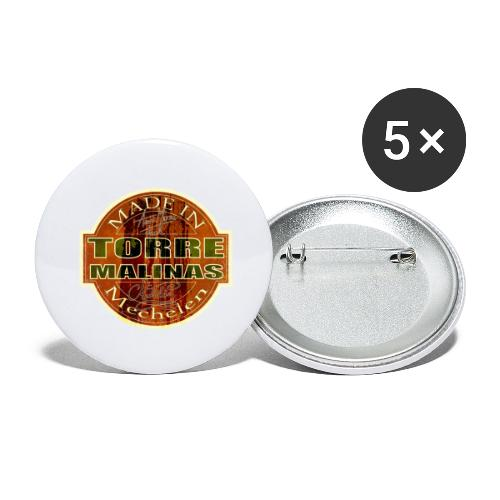 TorreMalinas - Buttons groot 56 mm (5-pack)