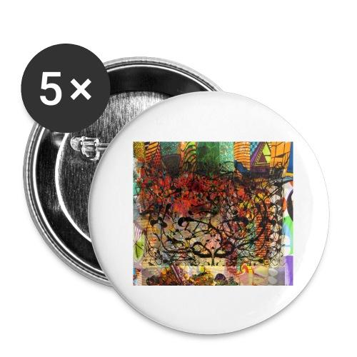 urban tribute - Lot de 5 grands badges (56 mm)