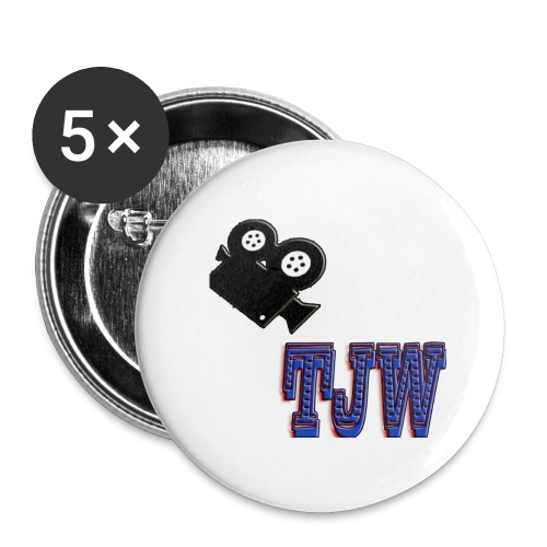 tjw - Buttons large 2.2''/56 mm(5-pack)