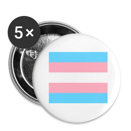 Transsukupuolinen - Rintamerkit isot 56 mm (5kpl pakkauksessa)